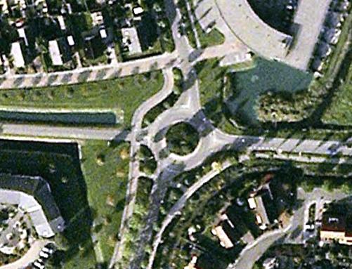 Rotonde bij Reiger